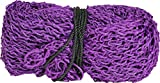 Horze Premium Slow Feed Square Bale Hay Net 70 x 90 - Holds 2200 Pounds, Purple