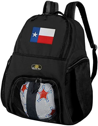 Texas SOCCERバックパックまたはTexas Flagバレーボールバッグ