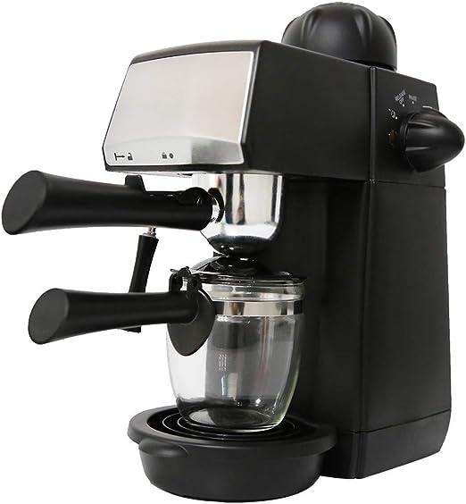 Cafetera Espresso 5 Bar con espumador de leche, prensa de bomba de ...