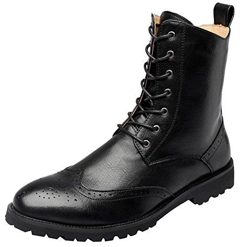 Los Zapatos Botas Casuales Herramientas De Hombres Black Martin R5vqC