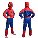 Gifts Online Spiderman Super Hero Costume - Fancy Dress Outfit Suit Mask -(5-7 YRS)