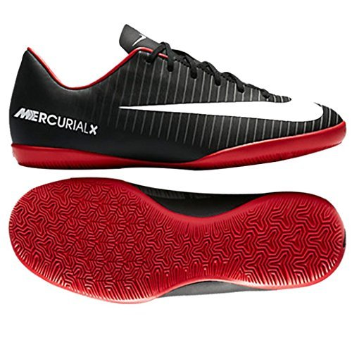 Nike - Junior Mercurial Vapor XI IC - 831947002 - Farbe: Rot-Schwarz - Größe: 32.0