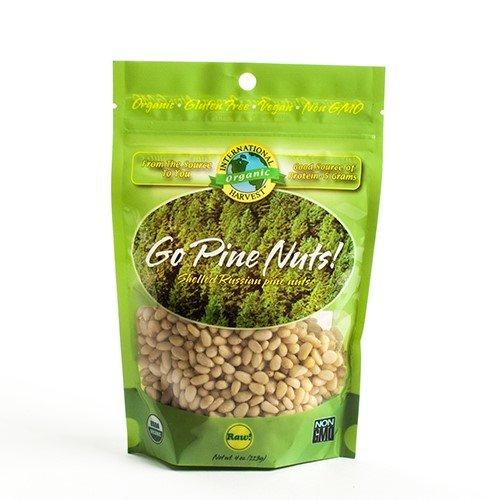 Organic Raw Pine Nuts - 4 oz. Bag (4 ounce)