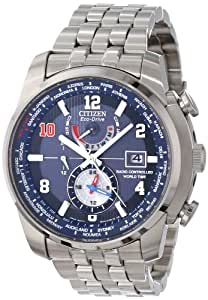 Citizen Men's AT9010-52M World Time A-T Eli Manning Limited Edition Watch