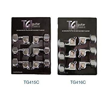 TGI TG416C - Clavijeros para guitarras: Amazon.es: Instrumentos musicales