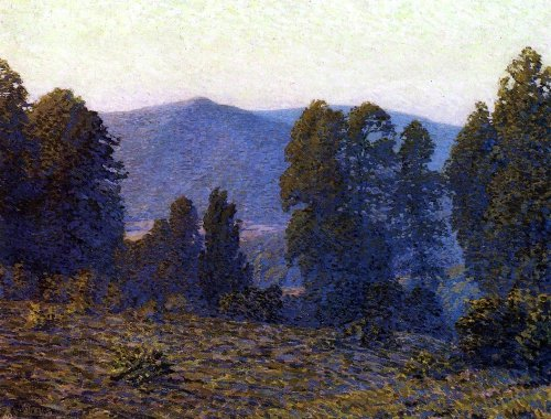 Art Oyster Christian J Walter Twilight in The Catskills - 21.1'' x 28.1'' 100% Hand Painted Oil Painting Reproduction by Art Oyster