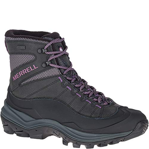 Merrell Women's Thermo CHILL MID Shell WP Snow Boot, Black (Merrell Women Boots Winter)