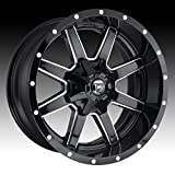 Fuel D610 Maverick 20x12 8x165.1/8x6.5'' -44mm Gloss Black/Milled Wheel Rim