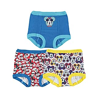 Disney Boys' Baby Mickey Mouse 3pk Potty Training Pant, 18