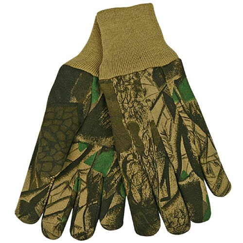 KINCO 825-L Men's Heavy Weight Jersey Gloves, Large, Camouflage