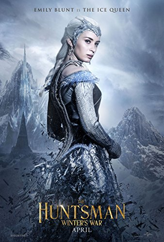 "The Huntsman  Movie Poster - 12"" x 18"" , Glossy Finish : Cha"