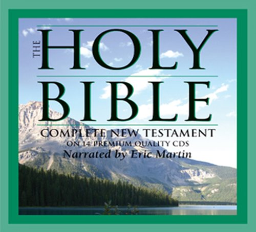 Audio Bible - Audio Bible KJV - New Testament Audio Bible on CD - Digitally Mastered