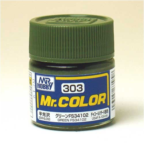 Mr.カラー C303 グリーンFS34102