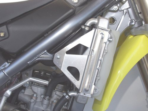 Radiator Braces - 04-09 HONDA CRF250X: WORKS CONNECTION RADIATOR BRACES (NATURAL)