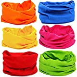 Sports Outdoors Fitness Hunting Fishing Best Deals - Kalily Oringinal Design 6 Pack Headband Bandana Protective Multi-use Seamless Breathable Neck and Head Tube Gaiter