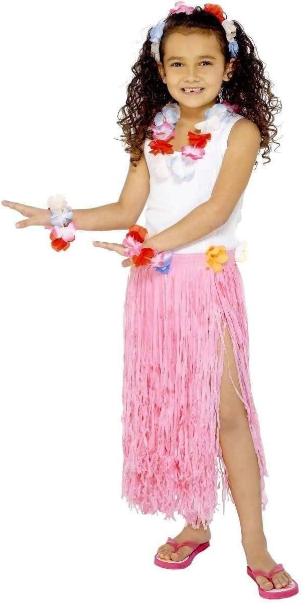 Kids - Disfraz de hawaiana para niña, talla única (28986): Amazon ...