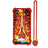Case for Azumi Speed 55 Pro Case Silicone border + PC hard backplane Stand Cover TT