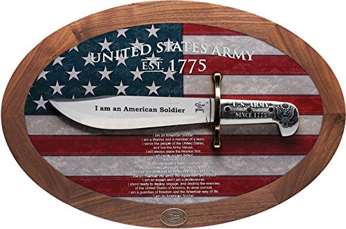 Case Bowie U.S. Army Commemorative Knife in Wooden Shadow Box Bowie 15009 U.S. Army Commemorative Knife in Wooden Shadow Box