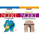 Gist of NCERT - Geography / Indian History (Set of 2 Books) 1st Edition