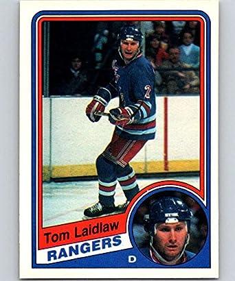 Amazon.com  1984-85 O-Pee-Chee  144 Tom Laidlaw NY Rangers NHL ... d1b9f5085
