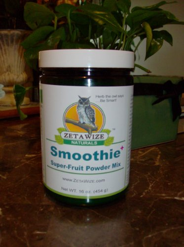 ZetaWize Naturals Super Fruit Smoothie Mix Powder