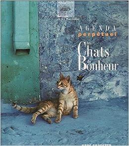 Amazonfr Agenda Perpétuel Les Chats Du Bonheur Hans Silvester
