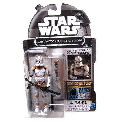 212th Battalion Clone Trooper Star Wars Droid Factory Exclusive Action Figure by Star Wars