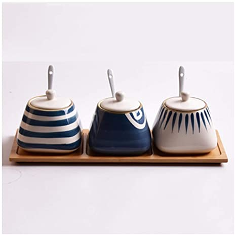 Amazon.com | HU Japanese Seasoning Jar Kitchen Supplies ...