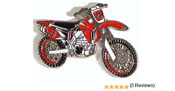 Pin de Metal esmaltado, Insignia Broche Moto Cross Enduro juicios Rastro Verde carriles para Bicicleta Motocicleta (Rojo): Amazon.es: Hogar