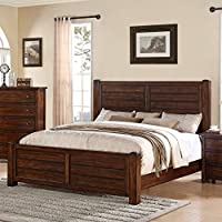 Picket House Furnishings Danner Panel Bed Chestnut/King