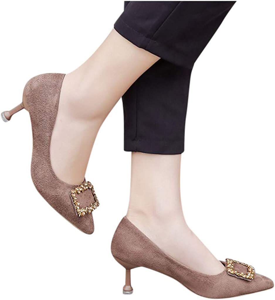 Stylish for Entertainment Womens Kitten Heel Ladies Fashion