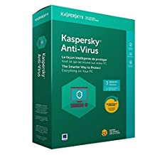 Kaspersky Labs Anti-Virus 2018, 3 Devices/1 Year