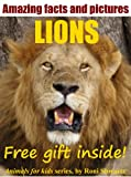 Lion Facts and Photos (Animals for Kids Book 1)
