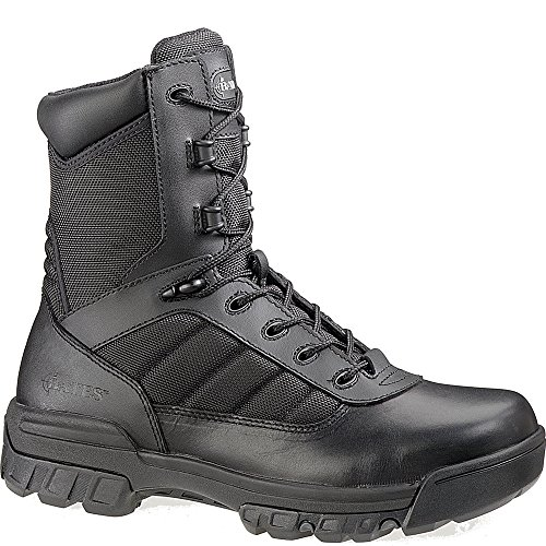 Bates Women's Ultra-Lites 8 Inches Tactical Sport Side Zip Boot,Black,5.5 M US