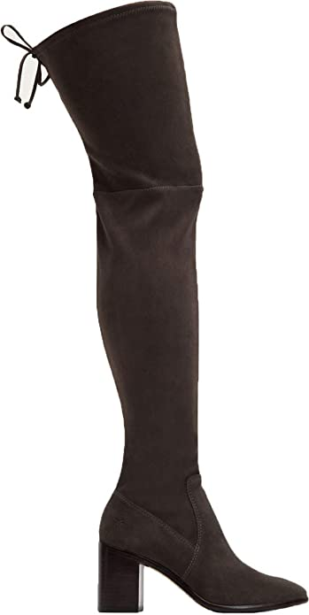 a13dbc0aade7 Amazon.com  FRYE Women s Julia Stretch Thigh High  Shoes