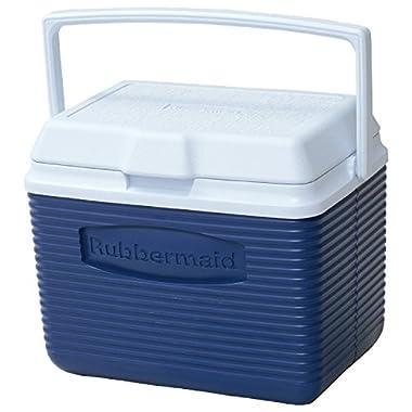 Rubbermaid Cooler / Ice Chest, 10-quart, Blue