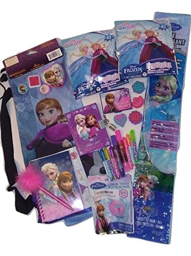 [22 Inch Poly Diamond Kite 63 Piece Puzzle Back to School Stamps Activity Disney Dairy Backpack 25 Piece Bundle] (Homemade Disney Character Costumes Adults)