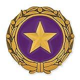 PinMart Gold Star Military Surviving Spouse Pin Enamel Lapel Pin