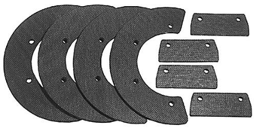 Oregon 73-006 Snow Thrower 8-Piece Paddle Set Replaces Honda 72521-730-003