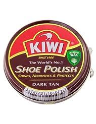 Kiwi Dark Tan Shoe Polish (50ml)