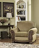Ashley Furniture Signature Design – Lynnwood Arm Chair – Classic Style Accent Chair – Amber and Brown Review