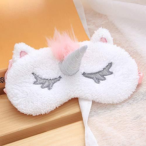 Stuffed & Plush Animals - 1pcs Mayitr Unicorn Eye Mask Carto