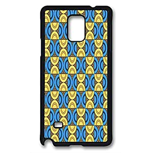 sumsung galaxy note 4 case,sumsung note 4 case,diy and custom fashion colorful pattern PC black case for samsung galaxy note 4 by happygoshopping