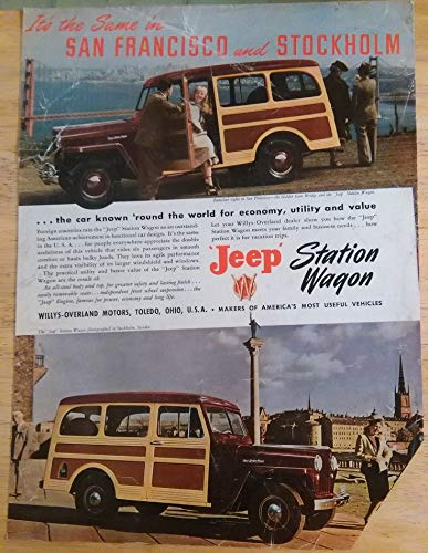 Overland Willys Wagon - 1948 WILLYS JEEP STATION WAGON