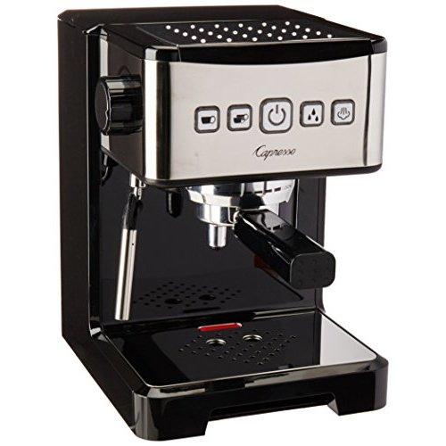Capresso Ultima PRO Programmable Espresso & Cappuccino Machine (Certified Refurbished) by Capresso