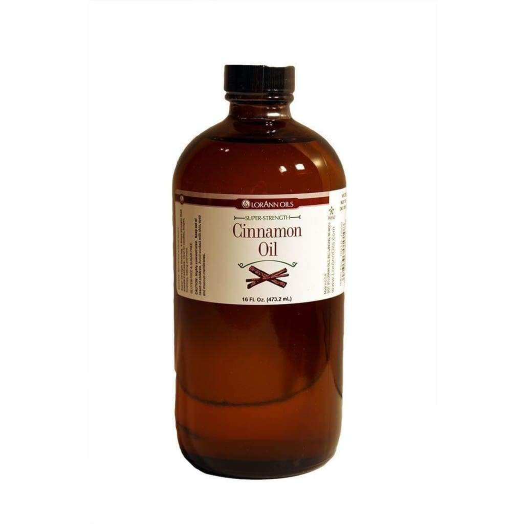 LorAnn Super Strength Cinnamon Oil Natural and Artificial, 16 Ounce