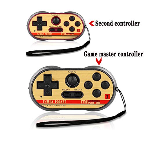 (FAMILY POCKET Handheld Game Player Dual Joystick Game Entertainment, NES Classic Mini Game Console, 260 Video Games, Birthday and Children's Gifts)