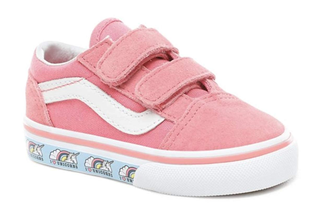 c7fe24696 VANS - Old Skool V - (Unicorn) Strawberry Pink Infants Shoes (8 UK Child):  Amazon.co.uk: Shoes & Bags