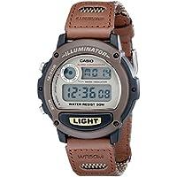 Casio Men's W89HB-5AV Illuminator Nylon Bancd Sport Watch