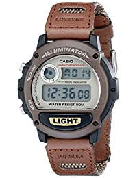 Casio Men's Illuminator Sport Resin Strap Watch Brown W89HB-5AV